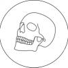 Bild von einem Schädel